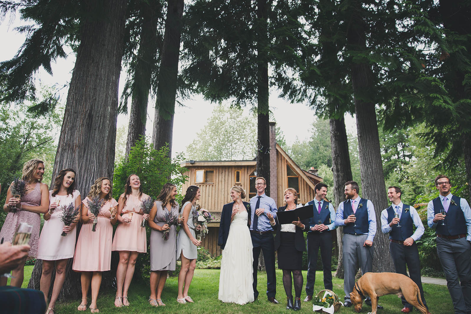 Wedding Party with Life Threads Wedding Ceremonies